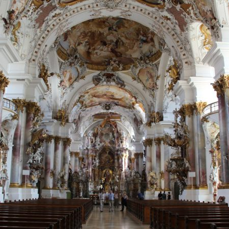 Kloster-Zwiefalten-Innenraum